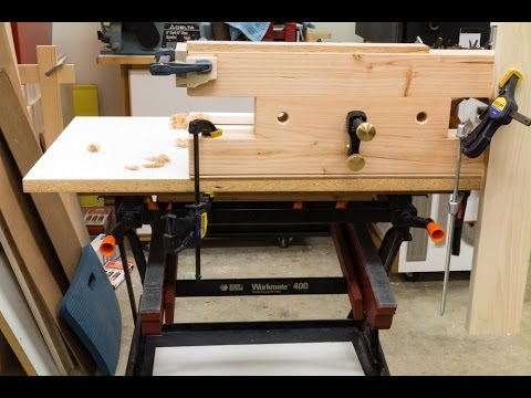 Tricked out Black & Decker Workmate and Bench Bull Accessory