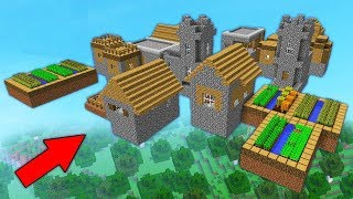 ЗАБУДЬТЕ ВСЕ, ЧТО ВЫ ЗНАЛИ О МАЙНКРАФТЕ... Троллинг Этой Деревни Жителей в Minecraft Мультик Дети