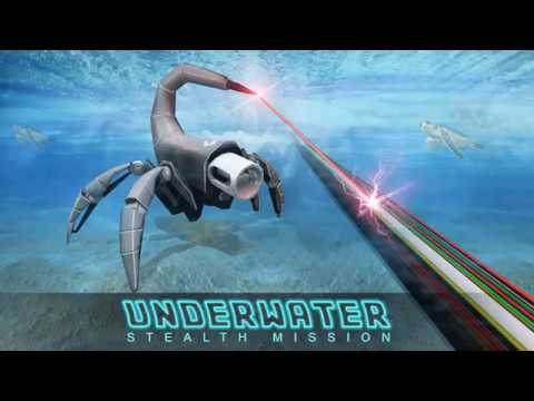 covert robot mission game: scorpion robot games hack