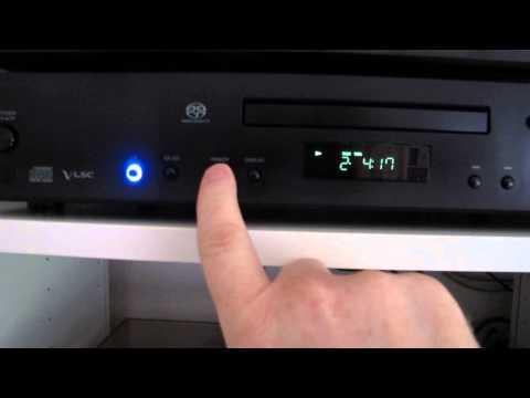 Onkyo C-S5VL CD / SACD Player | Wolfson DAC | Quarzoszillator und