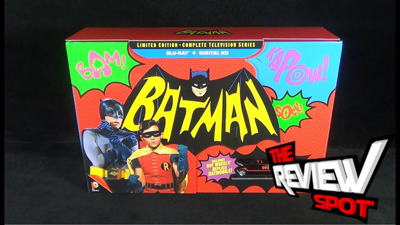 Download Blu-Ray Spot - Batman The Complete Television Series on Blu Ray