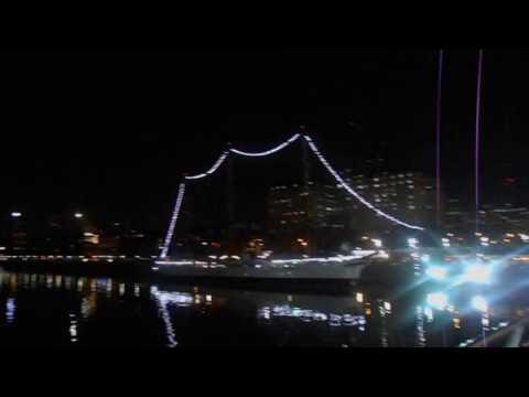 Buenos Aires Argentina - Calatrava  Woman's Bridge - Puerto Madero Buenos Aires Argentina