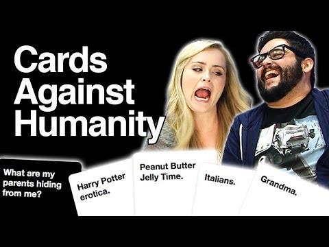 Cards Against Humanity Begins!