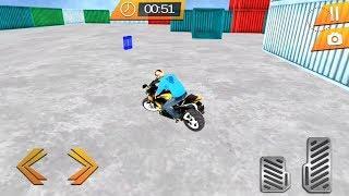 Ultimate Stunts Heavy Bike Parking Simulator Android Gameplay