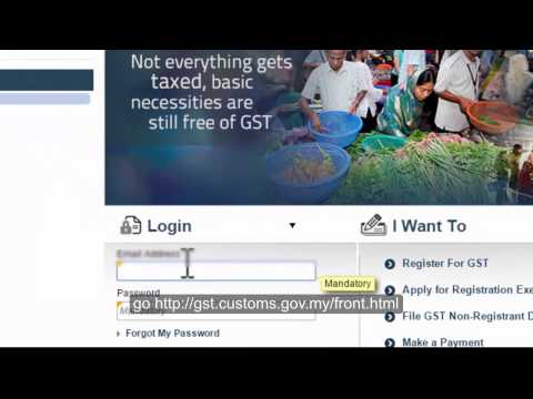First accounting software in Malaysia to show GST 03 submission online