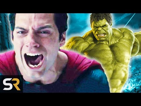 10 Amazing Superheroes That Have Destroyed Superman