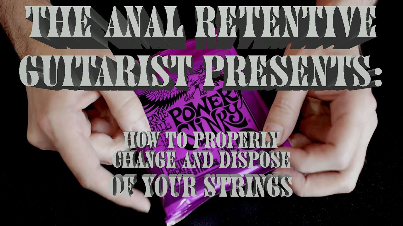 anal to be retentive not How