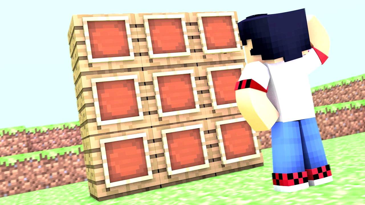 how to make a item frame in minecraft pe