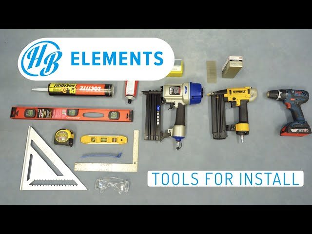 The Tools Needed for Installation | Hardie Boys