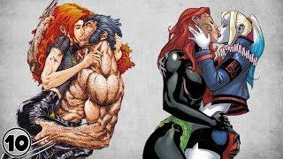 Top 10 Superhero Romances