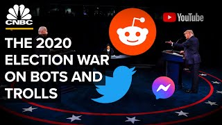 The 2020 Election War On Bots and Trolls