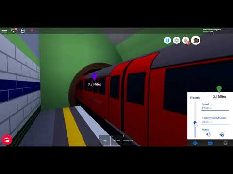Roblox New MTG First Day 1938 Stock MTG Subway Downing Square to Guild Cross