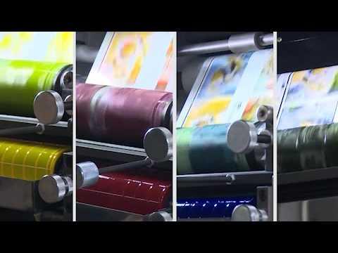 Флексографическая машина для печати этикеток ZBS 320