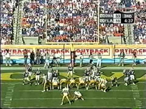 2004 Outback Bowl Iowa 37 Fla 17 2nd Half
