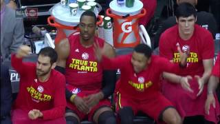 Dennis Schroder's Playoff Career-High Night Paces Hawks Trio's 65 Points In Game 5 | April 26, 2017