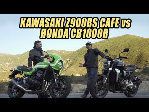 Cafe Society Shootout: Honda CB1000R vs Kawasaki Z900RS Cafe