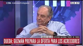 25-02-2020 - Carlos Heller en C5N – M1, con Gustavo Sylvestre – #Deuda #RegimenPrevisionalEspecial
