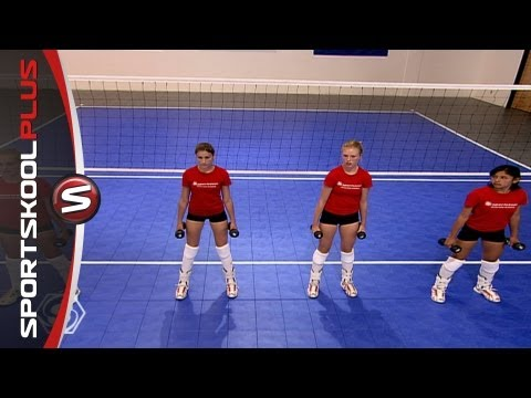 Fitness Training for Volleyball Players with Olympic Gold Medalist Misty May