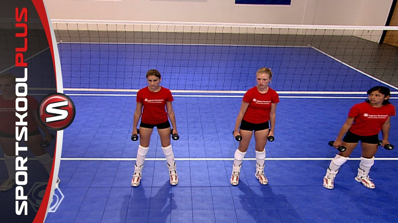 Fitness Training For Volleyball Players With Olympic Gold Medalist Misty May Youtube