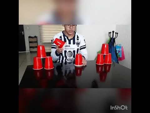 30 Day Challenge Cup Stacking