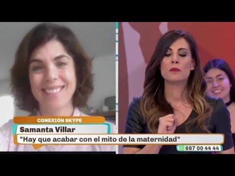 """Samanta Villar En """"En Boca De Todos"""" - TeleMadrid (20-02-2018)"""