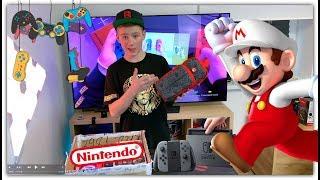 Купил много аксессуаров для игровой приставки Nintendo Switch Обзор