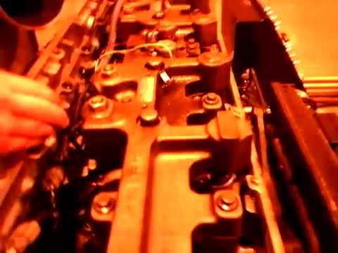 Setting jake brakes on an ISM Cummins