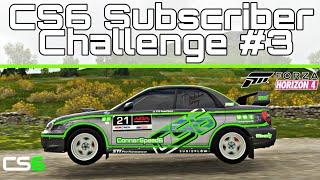 CS6 Subscriber Challenge #3 - Forza Horizon 4 - 04 Subaru WRX STi