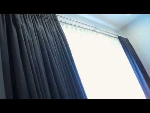 Modern Contemporary Interior Design for Drapes and Curtains | Galaxy-Design Video #102