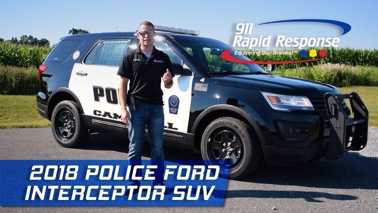 2018 Police Ford Interceptor Suv 911rr Youtube