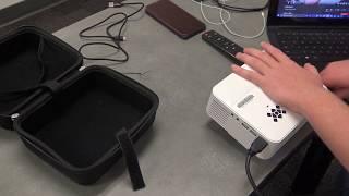 Mini projector - Topvision T21