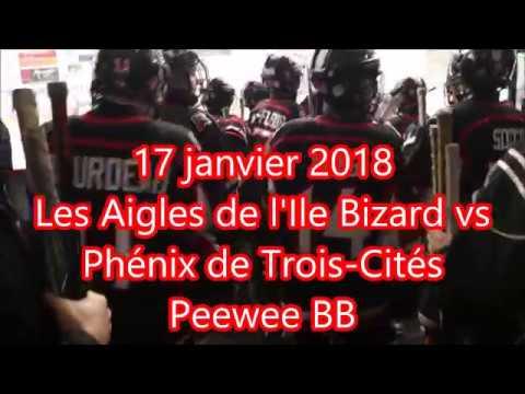 Aigles Ile Bizard peewee BB 17 jan 2018