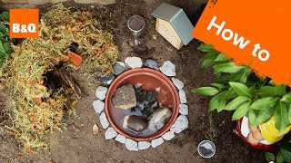 How to Build a Frog Haven