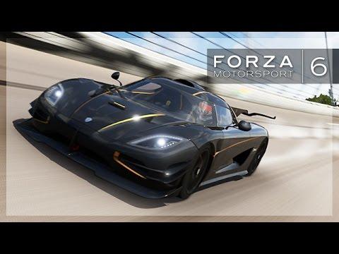 Forza 6 - Insane Speedway Race! (Fan Lobby, Koenigsegg Juan)