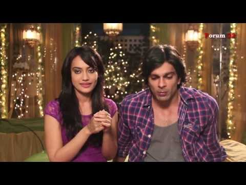 Qubool HaiZee TV - Karan Singh Grover and Surbhi Jyoti Interviewabout South Africa Trip - Part 4