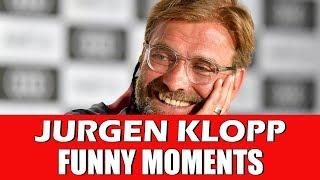 JURGEN KLOPP FUNNY MOMENTS | LIVERPOOL FOOTBALL CLUB MANAGER FUNNIEST MOMENTS
