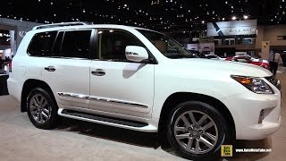 2015 Lexus LX570 - Exterior and Interior Walkaround - 2015 Chicago Auto Show