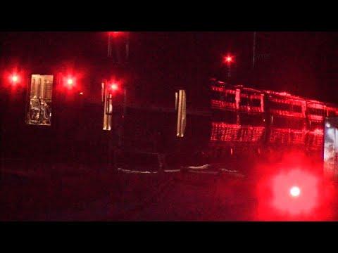 Raw: Amtrak Derails in Savannah, Nobody Hurt