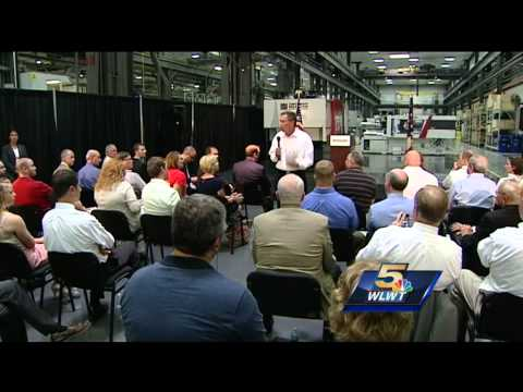 Ohio governor touts small business development in Clermont County