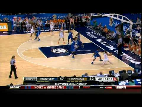 Tennessee Basketball: SEC Championship Game Highlights