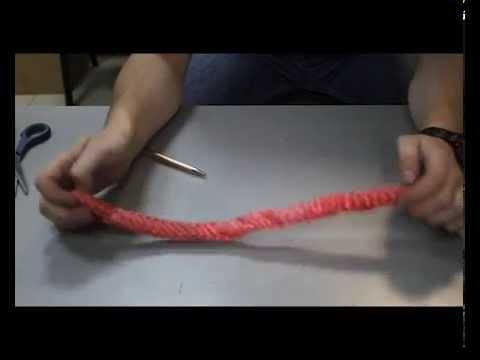 Фильм 4: Плетение петли синтетического каната (китайского).