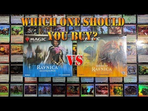 Ravnica Allegiance vs Guilds of Ravnica Bundle MTG
