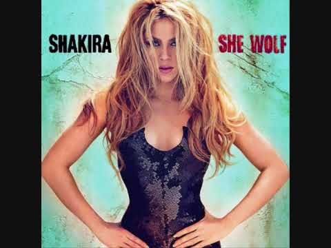 01. She Wolf - Shakira (She Wolf 2009) [With Lyrics]