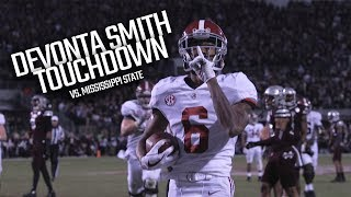 Watch Alabama beat Mississippi State in a late TD pass to Devonta Smith