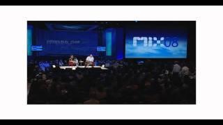 Steve Ballmer and Guy Kawasaki MIX 2008
