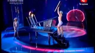 Winner of Ukraine got talent 3 (2011) Vitalyi Luzkar