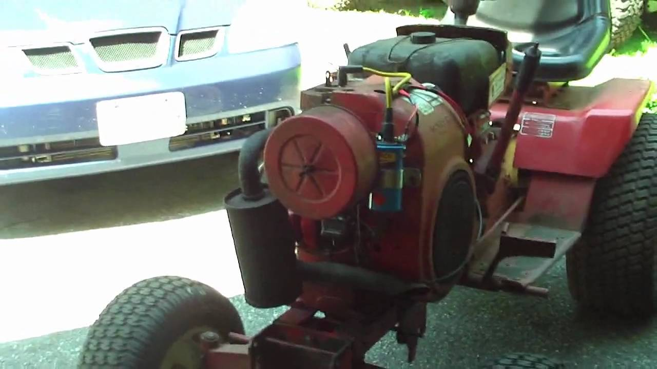 maxresdefault 1978 wheel horse c 160 8 speed kohler k341 16hp lawn tractor tlc wheel horse [ 1280 x 720 Pixel ]