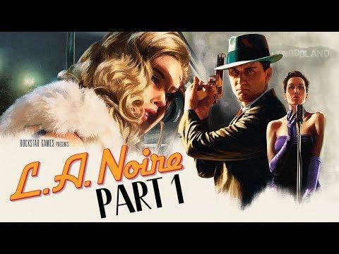 "L.A. Noire (PS4) - Let's Play (5-Star Ratings) - Part 1 - ""Patrol"""