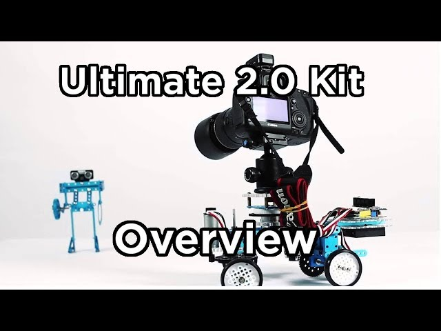 Our Overview of Makeblock's Ultimate Kit 2 0 - Tutorial