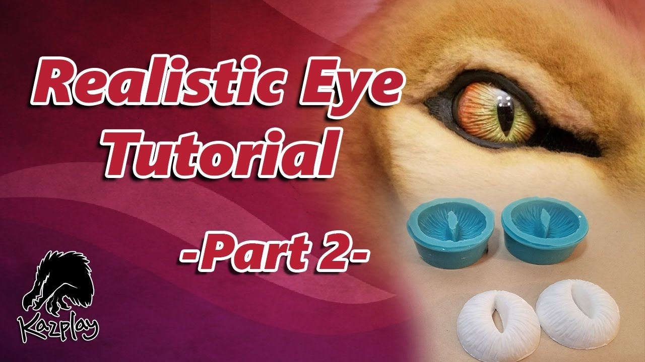 Creature Eye Tutorial Part 2 Making A One Mold And Casting